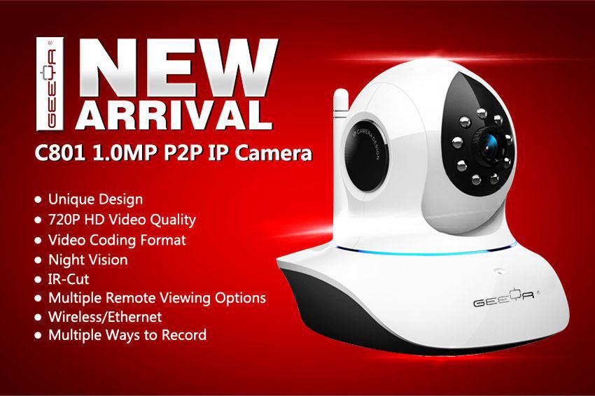 GEEYA金亚P2P IP Camera