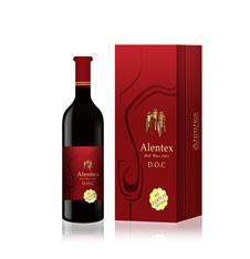 爱斯特红酒品牌包装设计